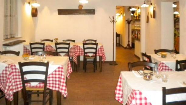 Osteria Del Calderone La sala