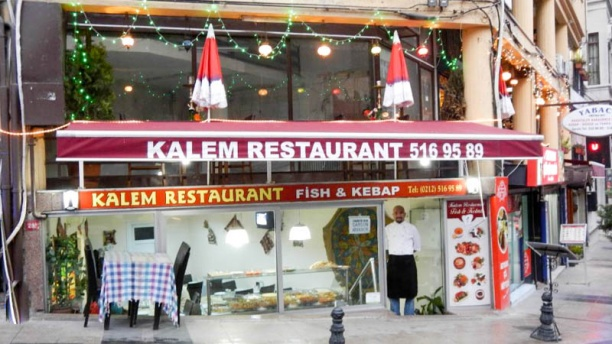 Kalem The restaunt outside