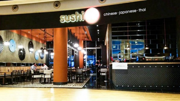 Sushico Mall of Istanbul The entrance