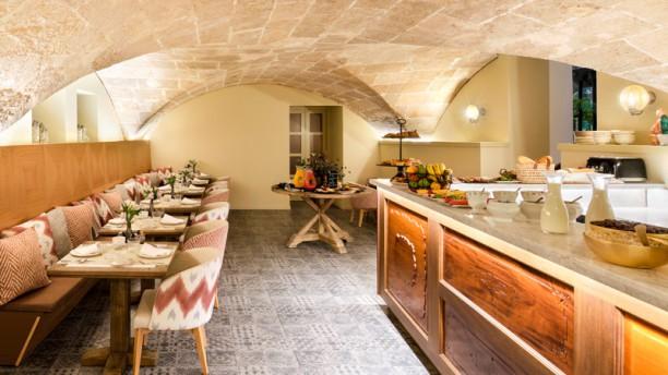 La cuina del antigua Vista del interior