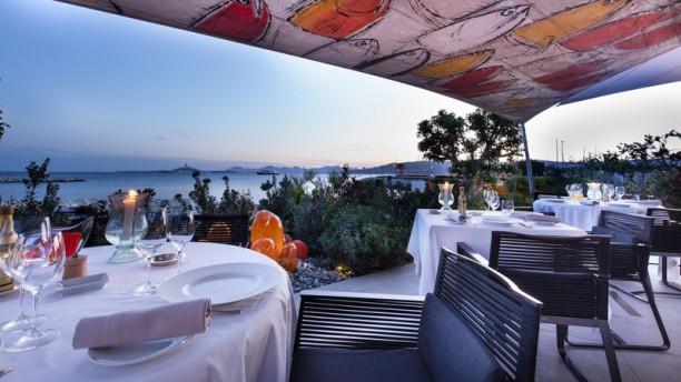Les Pêcheurs - Cap d'Antibes Beach Hotel Terrasse - Les Pecheurs - Cap d'Antibes Beach Hotel R&C