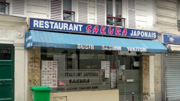 Sakura Façade du restaurant
