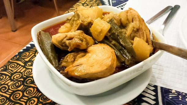 Tia Orlanda Sabores Moçambicanos Sugestão do chef
