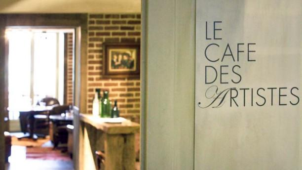 Le Café des Artistes - Hôtel Les Étangs de Corot Entrée