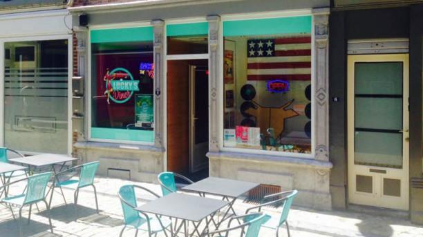 Lucky's Diner Terrasse