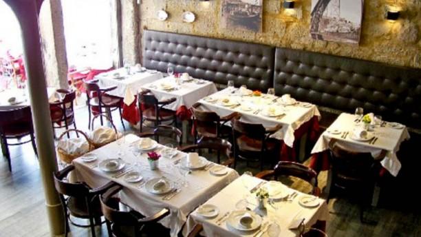 Restaurante Mercearia Vista da sala