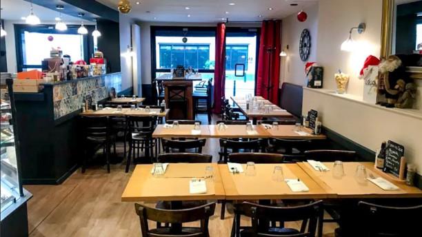 Godo Pizzeria Bistrot Bar Vue de l'intérieur