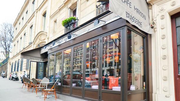 Café Marion devanture