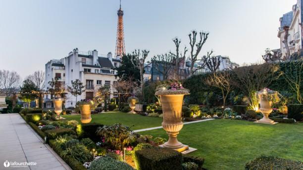 L'Abeille - Shangri-La Hotel, Paris Terrasse