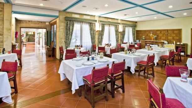 Restaurante Parador de Sto Domingo de la Calzada Vista comedor