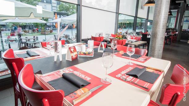 1, Café du Marché Salle du restaurant