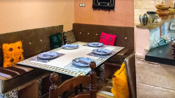 La Tapita Marroquí - Restaurante Asilah Sala del restaurante