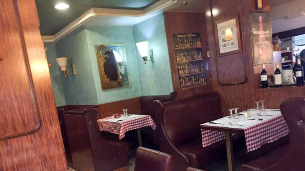 Café d'Orsel Vue de la salle