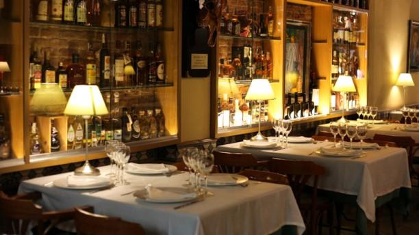 El boliche del gordo Cabrera Sala del restaurante