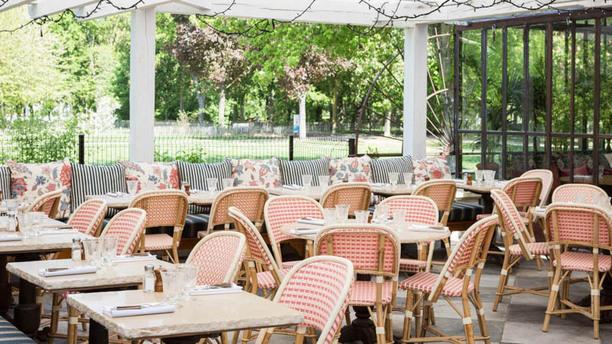Restaurant L'Ile Vue de la terrasse