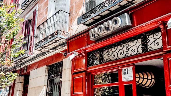 Entrada - Momo, Madrid