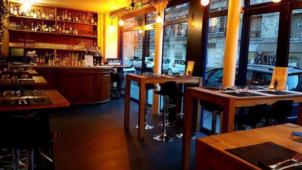 restaurant on paris 75011 p re lachaise m nilmontant menu avis prix et r servation. Black Bedroom Furniture Sets. Home Design Ideas