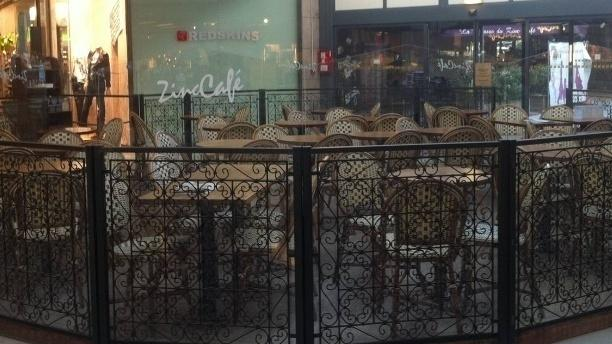Le Zinc Café Salle du restaurant