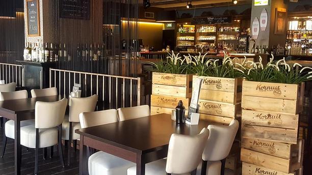 Grand Café De Zaak Het restaurant