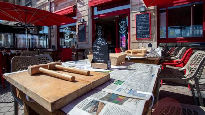 Terrasse - Le Crabe Marteau, Bordeaux