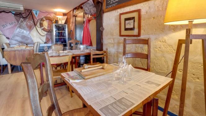 Vue de la salle - Le Crabe Marteau, Bordeaux