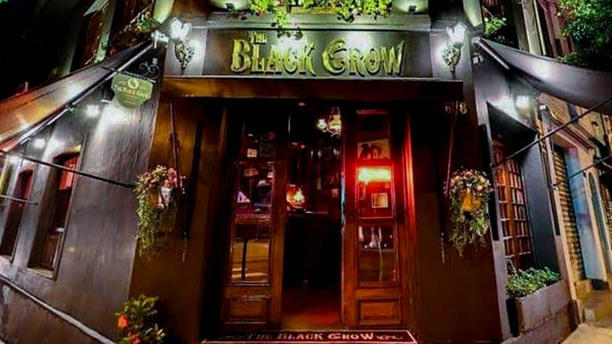 The Black Crow Pub Entrada