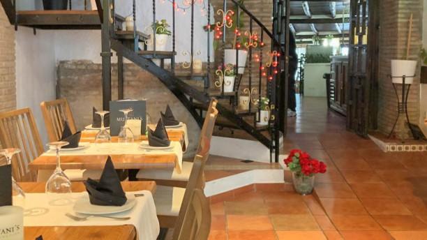 Multani's Restaurant Vista de sala