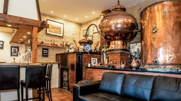 Karina Hôtel Restaurant Vue de l'intérieur