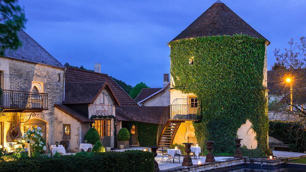 Château de Courban & Spa exterieur