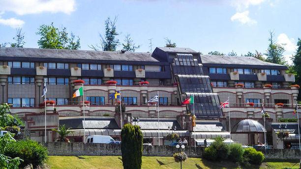 Restaurant la Pommeraie - Hôtel du Béryl vue sur l'hôtel