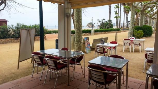 Café del Mar Vista terraza