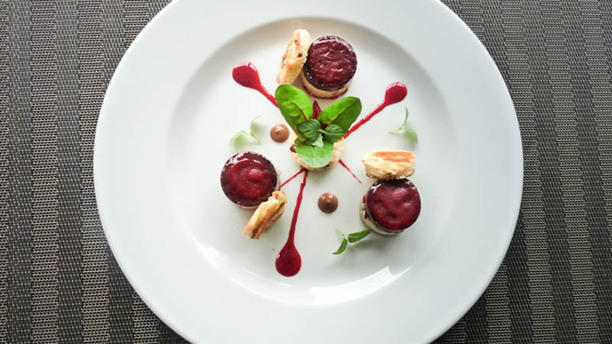 La Bifurcation Foie gras mi-cuit et sa gelée d'hibiscus