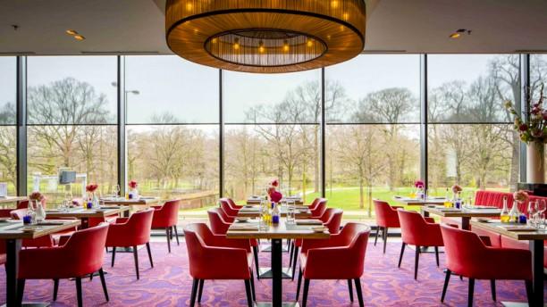 Lovely ... The Livingroom (in Het Babylon Hotel) Restaurant ...