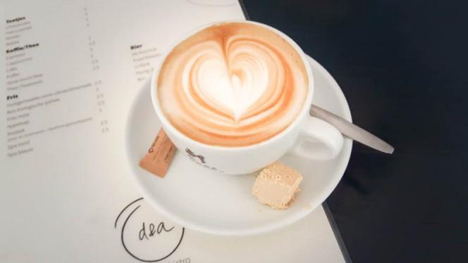 Koffie - d&a hummus bistro, Amsterdam