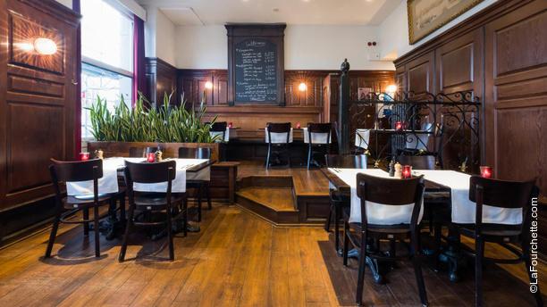 Brasserie Stadscafé Vue de la salle