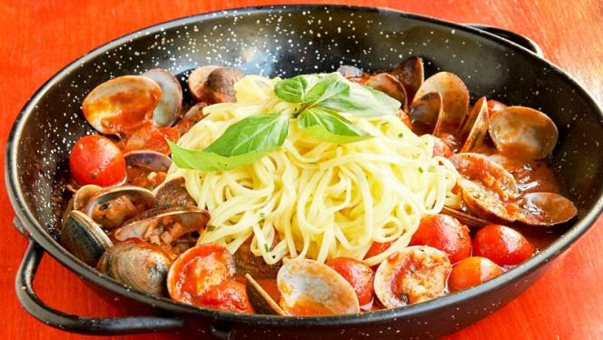 Suggestion plat principal - Ricotta & Parmesan, Brussels