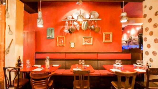 Vue salle - Ricotta & Parmesan, Brussels