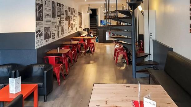 Les Tontons Burgers (Saint-Georges) Salle du restaurant