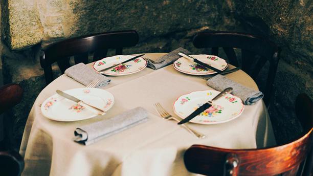 Taberna Bandido Detalle mesa