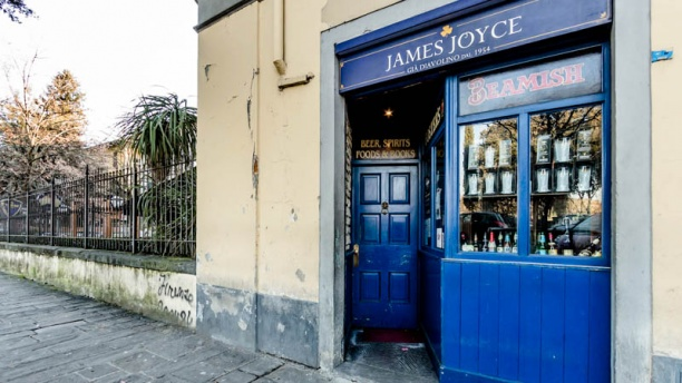 James Joyce Pub La entrata