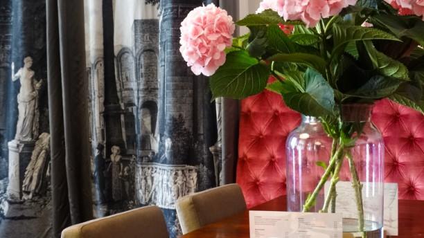 Brasserie 't Regthuys detail van de tafel