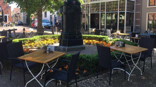 Brasserie 't Regthuys Terras
