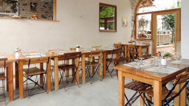 La Ruisselière Salon du restaurant