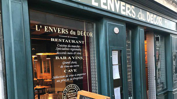 L envers du decor in saint Émilion restaurant reviews