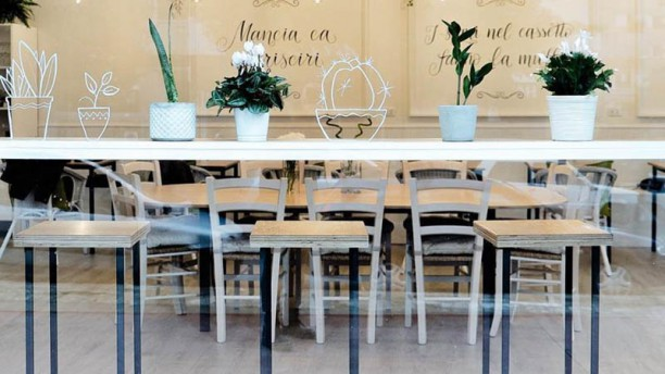 NonnAngè Bakery & Coffee Palermo Vista sala
