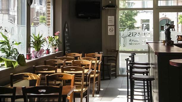 La taverne d'Alissa vue de la salle