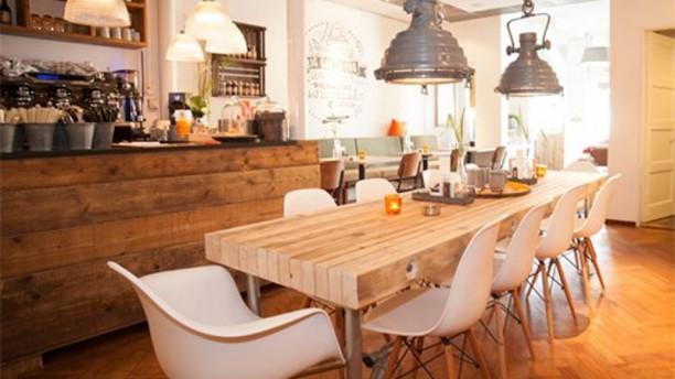 Brasserie 21 Het restaurant