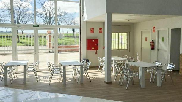 Indoorwall Café & Climb Space Vista sala