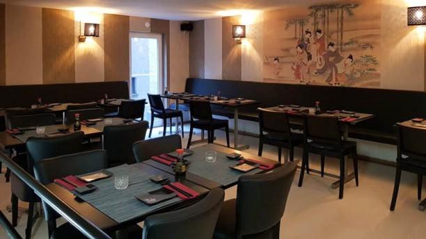 Sakana Sushi Leuven Vue de la salle
