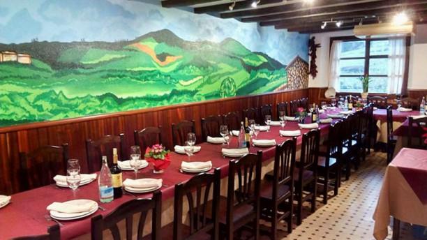 Herriko Taberna Nabarniz Vista de la sala
